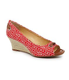 4e64cb3c20513d Alex Marie Bennet Peep-Toe Wedges. I went to the mall today to buy