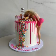 bday cakes for women * bday cake ` bday cakes for women ` bday cake for men ` bday cake for girl ` bday cake for husband ` bday cake ideas ` bday cake for boys ` bday cake ideas for women 21st Birthday Cake For Girls, 19th Birthday Cakes, Barbie Birthday Cake, 21st Bday Ideas, Funny Birthday Cakes, 21st Birthday Decorations, 18th Birthday Party, Birthday Cake Decorating, Birthday Cake Toppers