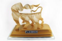 Moto GP Trophy designed by Antonio Pio Saracino, manufactured by Materialise