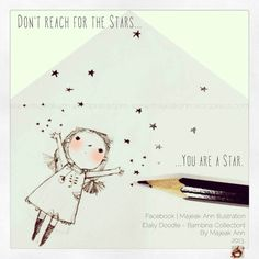 Because we are from Stardust. [Daily Doodle - by Majeak Ann]  Bambina Collection 2013