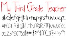A lot of great free fonts on this site!