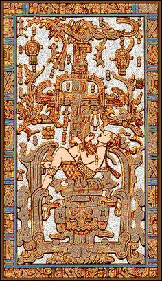 Pakal Votan, emperador maya con quien comparto mi sol kin :D
