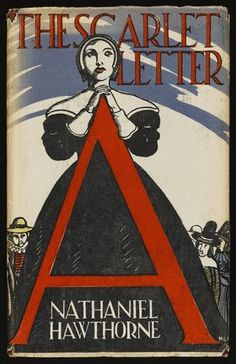A 1920s edition of The Scarlet Letter, first published in 1850.