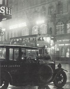 Vue de l'hôtel Kaiser, Berlin, vers 1930