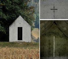 onsomething:  onsomething  Christian Kerez | Oberrealta Chapel, 1993