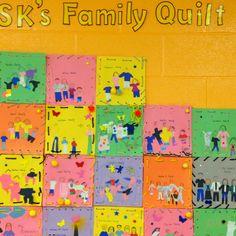 Family quilt.