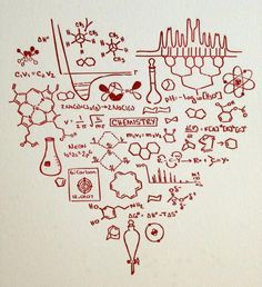 This is the heart of a Chemist....