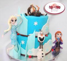 #Cake #Frozen #Disney @cupcakegdl