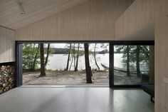 Lake Cabin / FAM Architekti – Feilden+Mawson