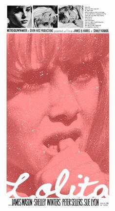 Lolita poster by Adam Juresko