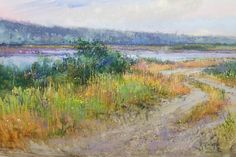 Dike Road by Richard McKinley Pastel ~ 12 x 18