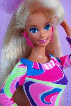 Barbie Totally Hair 1991