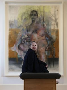 """""""I paint flesh because I'm human."""" Jenny Saville's voluptuous, rippling folds of flesh explore the living, Figure Painting, Painting & Drawing, Jenny Saville Paintings, Post Painterly Abstraction, Female Painters, A Level Art, Feminist Art, In The Flesh, Contemporary Paintings"""