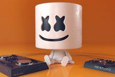 Dj Marshmello Digital Art
