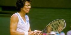 """Tennis legend Billie Jean King, who is played by Emma Stone in the new movie """"Battle of the Sexes,"""" talks about the film, LGBTQ rights and being outed. Billie Jean King, Tennis Legends, Chic Winter Outfits, Logo Gallery, Tennis Stars, Sport Motivation, Kids Sports, New Movies, Tennis Racket"""