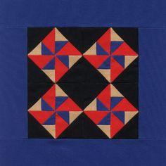 Amish Pinwheel Quilt Pattern