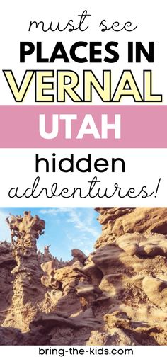 Are you looking for some amazing Utah adventures that are off the beaten path? Head to Vernal Utah to avoid the crowds with lots of access to mountain biking, hiking, mountains, lakes, and rivers, WITHOUT the crowds that most Utah destinations get. These hidden adventures in Vernal Utah will surprise you and have you wondering why you didn't visit sooner! Zion Utah, Moab Utah, Vernal Utah, Lehi Utah, Utah Camping, Utah Vacation, Utah Adventures, Breakfast Buffet, Family Adventure