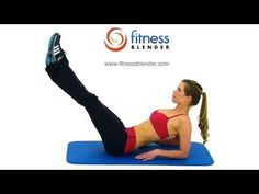 Fitness Blender's Fast Abs – 8 Minute Abs Workout Routine - I love fitness blender and recommend you check them out on YouTube if you like that ones I've pinned.