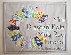 Quilted mug rug Tutorial