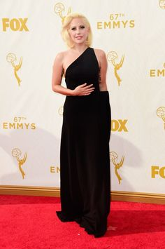 Pin for Later: See Every Star on This Year's Emmys Red Carpet! Lady Gaga