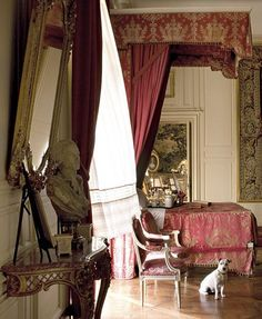 Château de Champchevrier, France www.classicantiquessydney.com.au #antique #french #interior