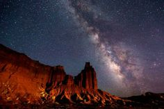 Destination Darkness: The Increasingly Rare Starscapes of the Colorado Plateau National Parks