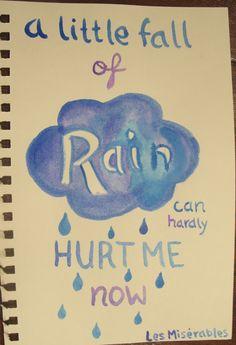 """A Little Fall Of Rain"". By Maya Jain. #theatre #lesmis #musicals www.lesmis.com"