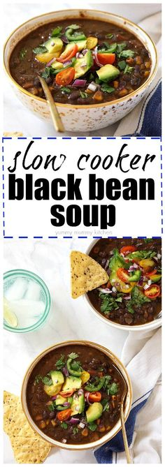 Black Bean soup Recipes From Scratch is One Of the Beloved soup Of Several Persons Across the World. Besides Simple to Create and Excellent Taste, This Black Bean soup Recipes From Scratch Also Health Indeed. Bean Soup Recipes, Healthy Soup Recipes, Spicy Recipes, Vegetarian Recipes, Vegan Soups, Diet Recipes, Recipies, Vegetarian Lifestyle, Vegetarian Barbecue