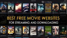 Here are the best movie streaming sites to watch free movies online. All of these free streaming movie sites are verified. Best Movie Websites, Free Movie Sites, Free Tv And Movies, Free Movie Downloads, Cool Websites, Good Movies, Free Movie Download Sites, Online Movie Sites, Movies Point