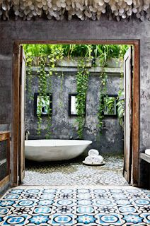 Gorgeous Balinese bathroom