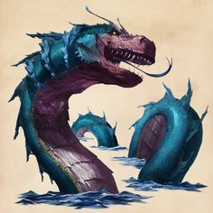 Fantastic Beasts Glossary– Sea Serpent