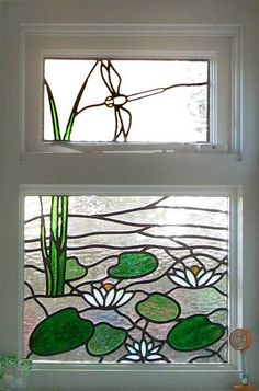 Double window... This would be great in my kitchen but a different design. Flowers maybe?