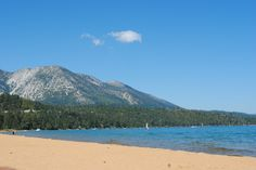 Baldwin Beach South Lake Tahoe. Great kayak to Emerald Bay 2012