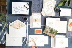 Ella Wedding Invitation by Hello Tenfold