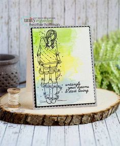 Nora Girl, ANGIEgirls by Unity Stamp Co