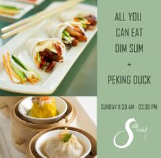 Pamper yourself with marvellous Dim Sum choices plus Silk Road's signature Peking Duck at THB 999 only. All you can eat Dim Sum available Sunday from 11:30 am. to 02:30 pm.