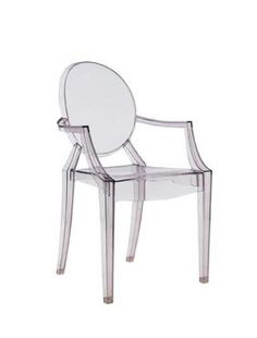 Kartell Ghost Chairs....I love these (might own a few for my dining room)