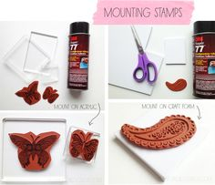 alisa burke: how to mount your stamps
