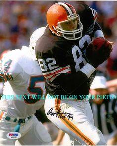 ... Newsome Cleveland Browns OZZIE NEWSOME AUTOGRAPHED 803a1d9d3