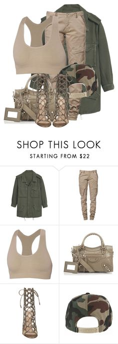 """""""Untitled #3413"""" by xirix ❤ liked on Polyvore featuring MANGO, CREAM, ibex, Balenciaga and Gianvito Rossi"""