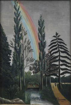 Lac Daumesnil (Effet d'orage), 1898, Henri Rousseau