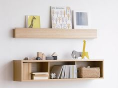 The wall storage collection by MUJI