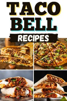 Taco Bell Recipes, Mexican Food Recipes, Dinner Recipes, Ethnic Recipes, Dinner Ideas, Mexican Food Places, Mexican Dishes, Kopy Kat Recipe, Crunchwrap Supreme