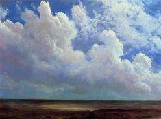 Beach Scene, 1871-1873 - Albert Bierstadt