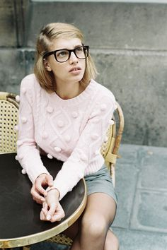 The Clothes Horse: Boys Don't Make Passes At Girls In Glasses