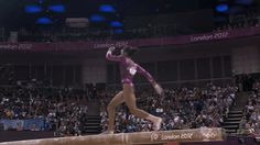 Gabby Douglas's All-Around Gymnastics Gold In GIFs