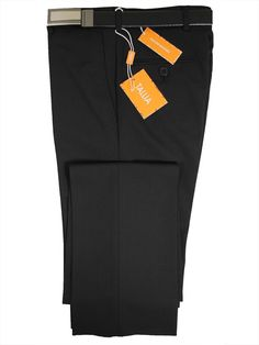 c41031388 Tallia 14362 Black Skinny Fit Boy's Dress Pant - Textured Weave - 57%  Polyester / 41% Wool / 2% Lycra