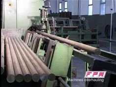 Complete brass forging line - sawing machine, graphitizing, hauting furnace and forging press - YouTube