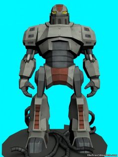 Characters and Robot 3D Model
