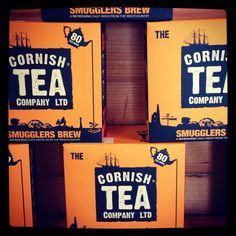 Cornish Tea Company... even China is buying Cornish Tea because it's pure...